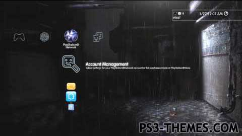 free custom ps3 themes frosty army